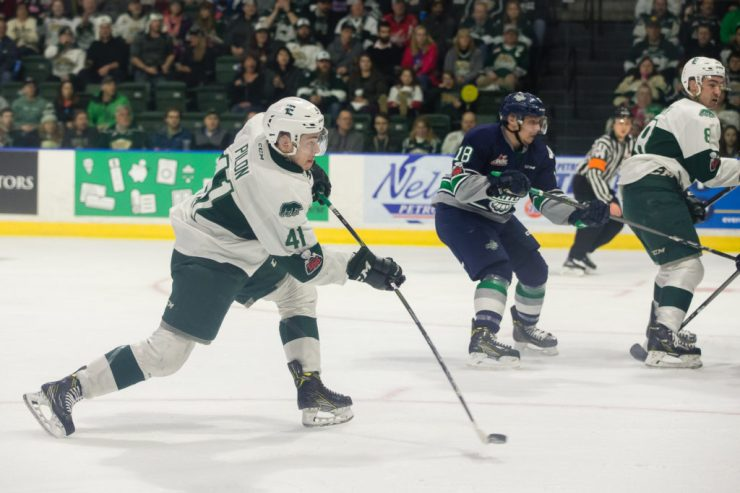 WHL: MAR 23 Seattle Thunderbirds at Everett Silvertips
