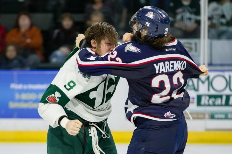 WHL: JAN 10 Tri-City Americans at Everett Silvertips