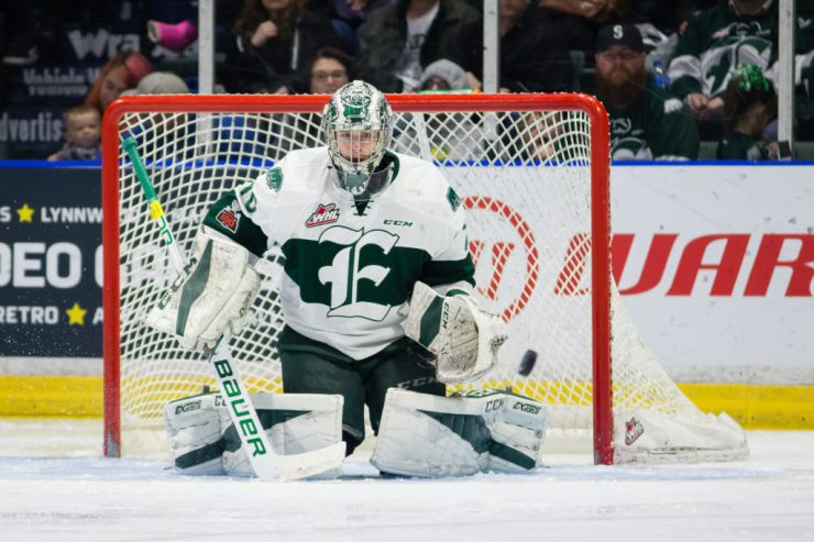 WHL: APR 21 Tri-City Americans at Everett Silvertips