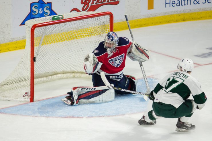 WHL: APR 28 WHL Playoffs - Tri-City Americans at Everett Silvertips