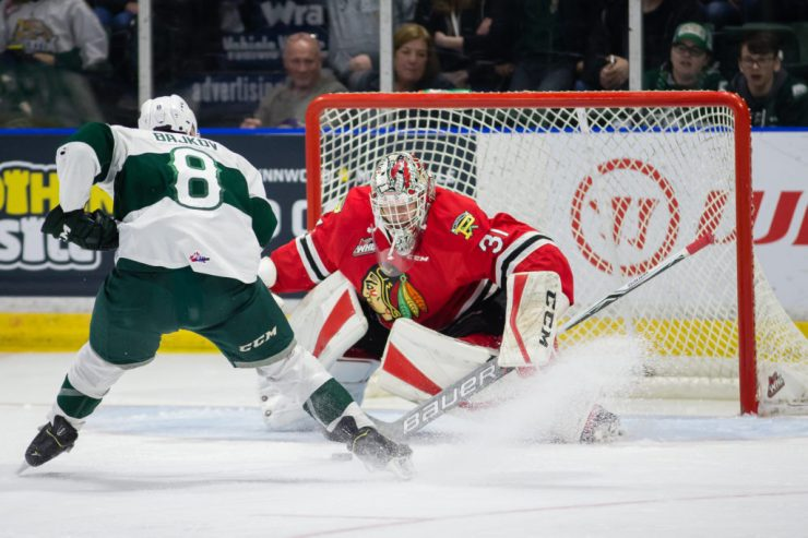 WHL: APR 6 Portland Winterhawks at Everett Silvertips