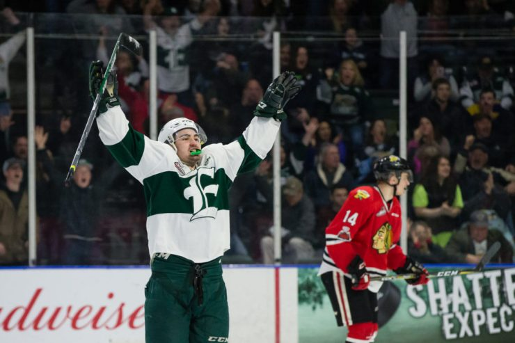 WHL: APR 7 Portland Winterhawks at Everett Silvertips