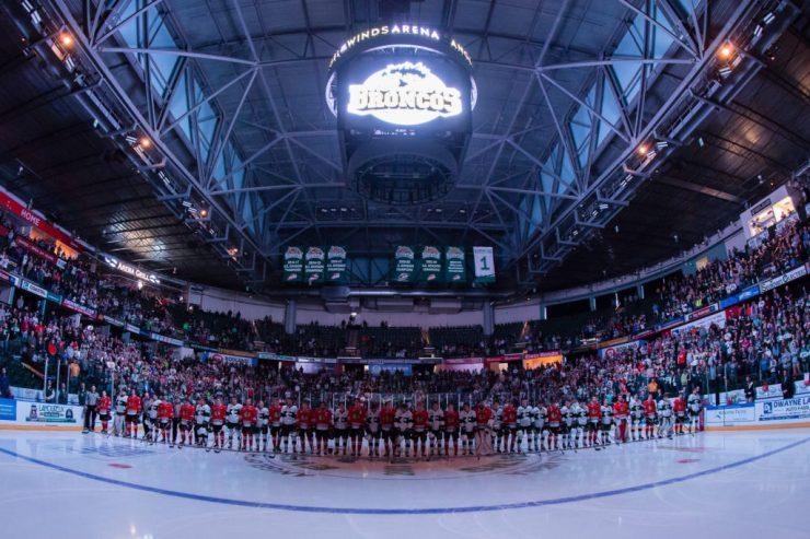 WHL: APR 7 Portland Winterhawks at Everett Silvertips