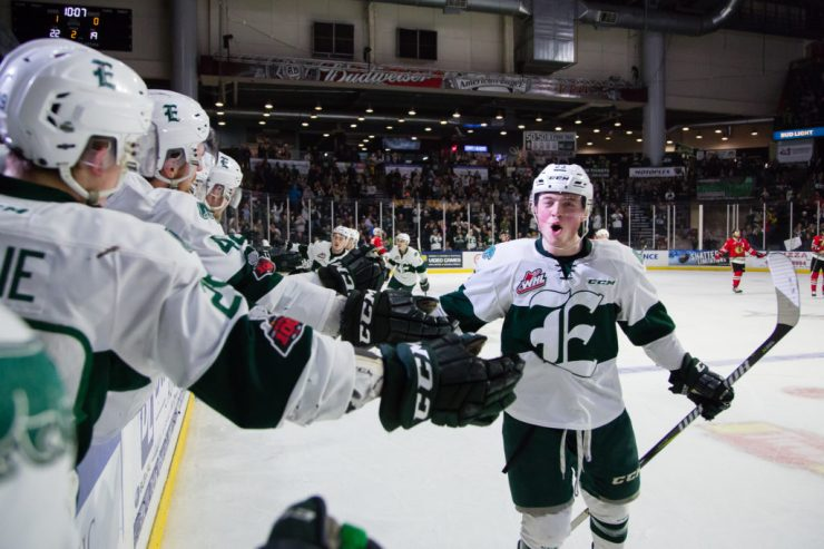 WHL: APR 13 Portland Winterhawks at Everett Silvertips