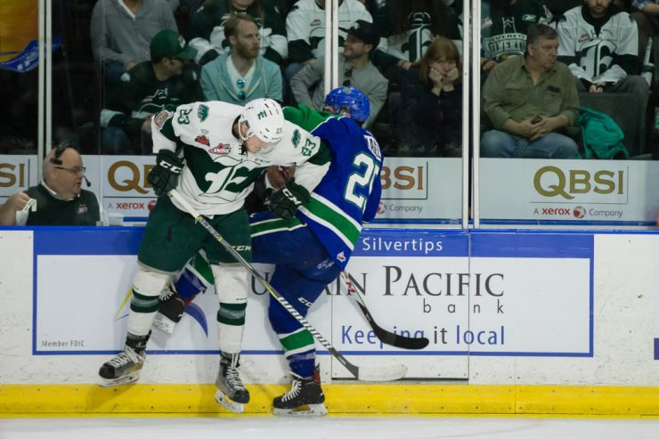 WHL: MAY 11 WHL Championship - Swift Current Broncos at Everett Silvertips